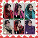 Jilbab SyrHood ( Syria Hoodie ) Savana Seri 2  Stylish by Flow Idea