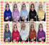 Jilbab Syria Pet Dosty Lace by Fisura Scarf