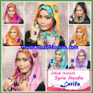 Jilbab Instant Syria Hoodie Latifa Trendy