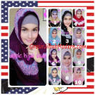 Jilbab Syria Bilqis Stylish dan Syar'i by Apple Hijab Brand