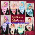 Jilbab Syria Cross Ruffle Ameena