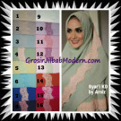 Jilbab Syria Jumbo Syar'i KD (Krisdayanti) Original by Arniz Hijab Brand