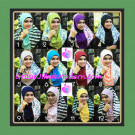 Jilbab Syria Sofia Frill Modis by Apple Hijab Brand