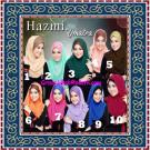 Jilbab Instant Model Baru Hazmi Trendy
