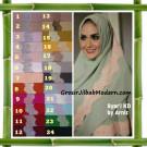 Jilbab Syria Jumbo Syar'i KD (Krisdayanti) Seri 2 Original by Arniz Hijab Brand