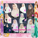 Jilbab Cerutti Cantik Mijwad For Kids Original by Qalisya Free Pin Lucu