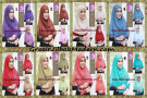 Jilbab Syria Modern Bolak Balik Yasin Mewah by Apple Hijab Brand