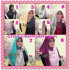 Jilbab Syria Instant Bergo Pet Aliya Model Baru by Flow Idea Series