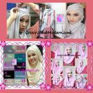Pashmina Cantik Instant Hanna ala Dewi Sandra Sinetron CHSI Original by Apple Hijab Brand
