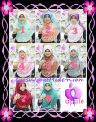 Jilbab Instant Cantik Syria Pet Madania Original by Apple Hijab Brand Series