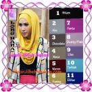 Jilbab Syria Long Hana Zaskia Original By Apple Hijab Brand