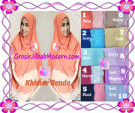 Exclusive Khimar Renda Cerutti Syar'i Modis by Apple Hijab Brand Series