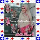 Jilbab Bolak Balik Jersey Flower 4 Original by Rakha Series