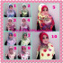 Jilbab Harian Syria Kerut Florence Cantik Original by Flow Idea
