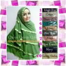 Jilbab Jumbo Cantik Khimar Exclusive Lyra Original by Qalisya