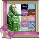 Jilbab Jumbo Cerutti Khimar Exclusive Lyra Seri 2 Original by Qalisya