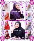 Jilbab Syria Kerut Soraya Original by Apple Hijab Brand