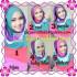 Pashmina Instant Rainbow Modis by Apple Hijab Brand