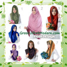 Jilbab Instant Simple Modis Syria Hoodie Shareel by Fiori Design