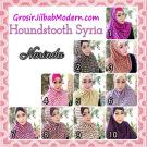 Jilbab Syria Instan 4 Gaya Terbaru Houndstooth By Narinda