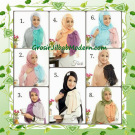 Jilbab Syria Modis Anne by Fiori Design Series