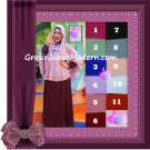 Jilbab Trendy Cafe Khimar Hoodie Ala Astrid Uya Kuya by Apple Hijab Brand Series