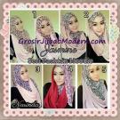 Jilbab Instant Jasmine Pashtan Hoodie Terbaru by Narinda Hijab