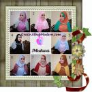 Jilbab Instant Terbaru Syria Mahwa Elegan by Apple Hijab Brand