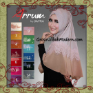 Jilbab Syria Modis Manis Arrum by Sayra Series
