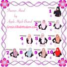 Jilbab Instant Modis Sheeren Hoodie Original by Apple Hijab Brand