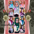 Jilbab Syria Cantik Dalisha by Apple Hijab Brand
