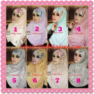 Jilbab Syria Modis Queenova Cantik Original by Flow Idea