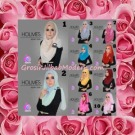 Jilbab Syria Pashmina Instant Modis Terbaru Holmes by Apple Hijab Brand