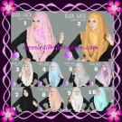 Jilbab Instant Terbaru Elsa Lace Hoodie Premium by Apple Hijab Brand