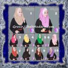 Jilbab Pesta Modern Pastan Deasy Cantik Original by Apple Hijab Brand