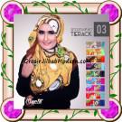 Jilbab Segi Empat Modern Bahan Tierack Oneto Seri 3