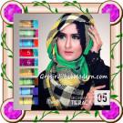 Jilbab Segi Empat Modern Bahan Tierack Oneto Seri 5