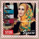 Jilbab Segi Empat – Hijab Square Terbaru Bahan Tierack ST05