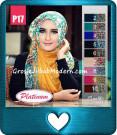 Jilbab Segi Empat Trendy Terbaru Platinum Seri 17
