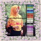 Jilbab Bergo Pet Instant Syar'i Modis Almia Seri 3