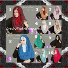 Jilbab Instant Modis Premium Ruby Hoodie Original By Apple Hijab Brand