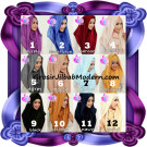 Jilbab Instant Modis Terbaru Deeja Cavali Hoodie Seri 2 Exclusive Original by Apple Hijab Brand
