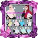 Jilbab Instant Syria Daliya Cantik dan Elegan By Apple Hijab Brand