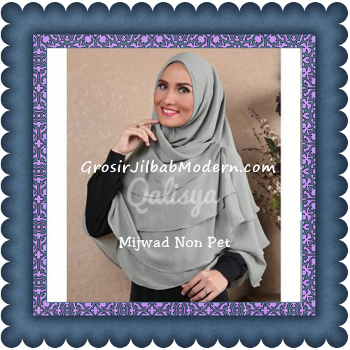 Jilbab Khimar Cantik Mijwad Tanpa Pet Seri 1 Original By Qalisya | Grosir Jilbab Modern|Jilbab Cantik|Jilbab Syari|Jilbab Instan
