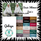 Jilbab Basic Khimar Syar'i Exclusive Seri 3 Original by Qalisya