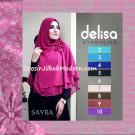 Jilbab Instant Cerutti Tanpa Pet Delisa Syar'i Hijab By Sayra