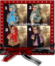 Jilbab Instant Syria Leona Modis Original by d'Qiara Brand