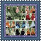 Jilbab Khimar Syar'i Elegan Halwa Brukat Seri 2 Trendy Original By Qasilya Brand