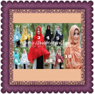 Jilbab Khimar Syar'i Halwa Brukat Modis Trendy By Qalisya Brand