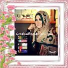 Jilbab Pashmina Motif Alphabet Cantik Bahan Full Viscose